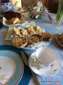 Home made afternoon tea
